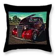 Chevy On The Run Throw Pillow