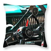 Chevy Powerglide Throw Pillow