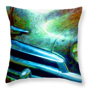 1953 Bel Air Chevy Project 2 Throw Pillow