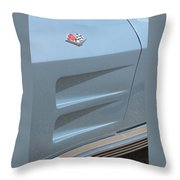 Chevy Scoops Throw Pillow
