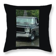 Chevy Vintage Truck Throw Pillow