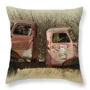 Chevy Vs Chevy Throw Pillow