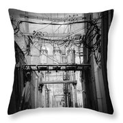 Cheyenne Alley Throw Pillow