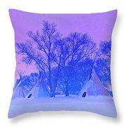 Cheyenne Dawn Throw Pillow