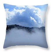 Cheyenne Mountain Throw Pillow