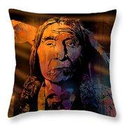 Cheyenne Sunset Throw Pillow