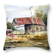 Cheyenne Valley Station Throw Pillow