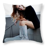Chiara Ferragni Throw Pillow