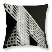 Chiaroscuro Construction Throw Pillow