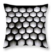 Chiaroscuro Geometry Throw Pillow