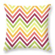Chic Chevron Pattern Throw Pillow