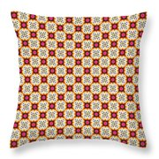 Chic Seamless Tile Pattern Throw Pillow