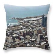 Chicago 2 Throw Pillow