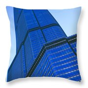 Chicago Abstract 2 Throw Pillow