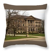 Chicago Academy Of Science Throw Pillow