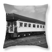 Chicago And North Western Business Car 1 Throw Pillow