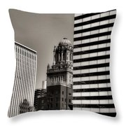 Chicago Architecture - 14 Throw Pillow