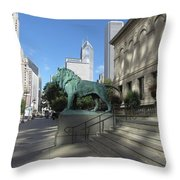 Chicago Art Throw Pillow