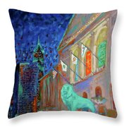 Chicago Art Institute Throw Pillow