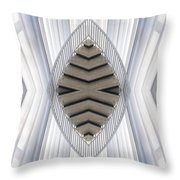Chicago Art Institute Staircase Mirror Image 04 Vertical Throw Pillow