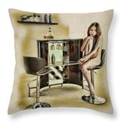 Chicago - Asian American Series Throw Pillow