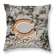 Chicago Bears B2 Throw Pillow