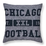 Chicago Bears Retro Shirt Throw Pillow