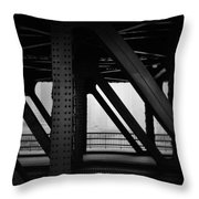Chicago Bridge Throw Pillow