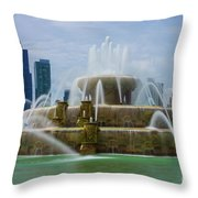 Chicago Buckingham Throw Pillow