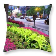 Chicago Color Throw Pillow
