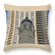 Chicago Contrast Throw Pillow