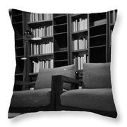 Chicago Design District Throw Pillow