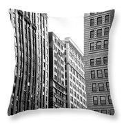 Chicago Faces Throw Pillow