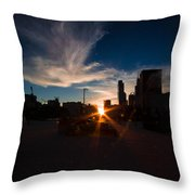 Chicago-henge Fall2015 Throw Pillow