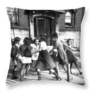 Chicago, Illinois, 1941 Throw Pillow