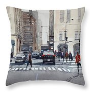 Chicago Impressions Throw Pillow
