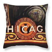 Chicago Is Throw Pillow