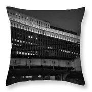 Chicago Merchandise Mart  Throw Pillow
