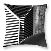 Chicago Mirage Throw Pillow