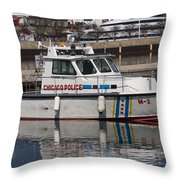 Chicago Police Throw Pillow