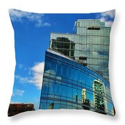 Chicago Reflection  Throw Pillow
