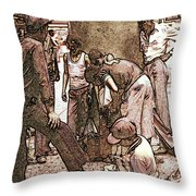 Chicago Shoeshine Boys - Pencil Throw Pillow