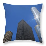Chicago Skyscrapers  4 Throw Pillow
