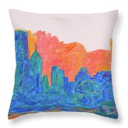 Chicago Spin Throw Pillow