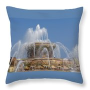 Chicago Splash Throw Pillow