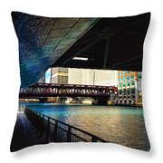 Chicago Water  Throw Pillow