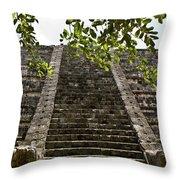 Chichen Itza 3 Throw Pillow