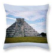 Chichen Itza 4 Throw Pillow