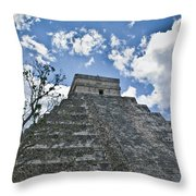 Chichen Itza 5 Throw Pillow