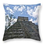 Chichen Itza 6 Throw Pillow